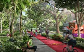 Tengah Executive Condominium Real Estate Located at Eco Friendly Environment